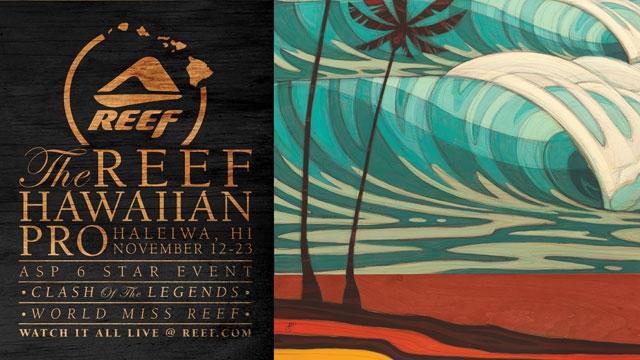 60f36508d5 Reef Hawaiian Pro - Haleiwa